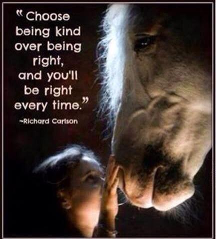 being kind is being right